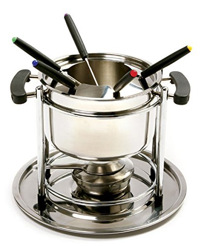 Norpro 499 Stainless Steel Fondue Set 8 Cup Capacity