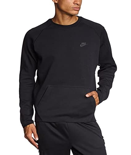 4fa6ed4328d Image Unavailable. Image not available for. Color  Nike Sportswear Tech  Crew Sweatshirt Black 2X