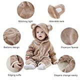 Michley Baby Girls Boys Romper Bear Style Jumpsuit