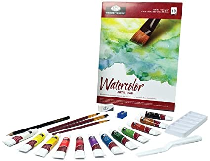 amazon com royal langnickel essentials 21 piece watercolor