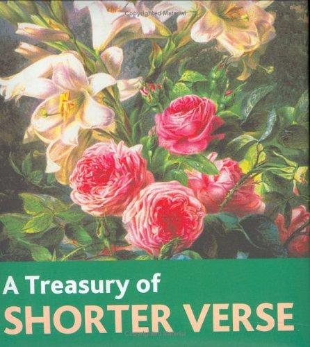 A Treasury of Shorter Verse pdf