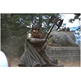two headed axe - The Lord of the Rings: The Return of the King 8x10 Photo John Rhys-Davies Swinging Two Headed Axe kn