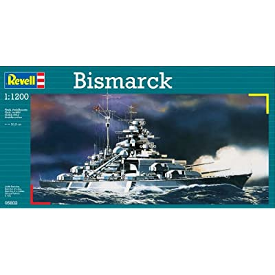Revell of Germany BISMARCK Plastic Model Kit: Toys & Games