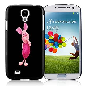 Popular Design Piglet HD-640x1136 wallpapers Black Samsung Galaxy S4 I9500 Protective Phone Case