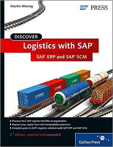SAP Logistics: An Introduction to SAP ERP and SAP Supply