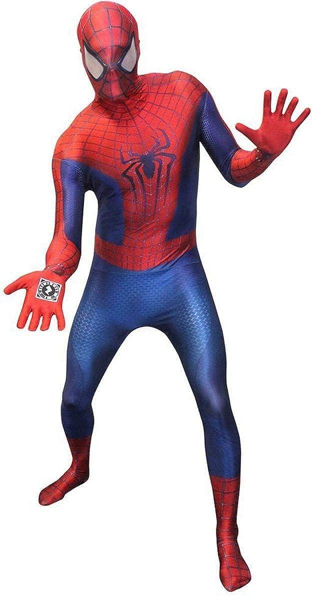 en promociones de estadios Morphsuits Morphsuits Morphsuits Traje zentai de Amazing Spiderman con funciones digitales  tomar hasta un 70% de descuento