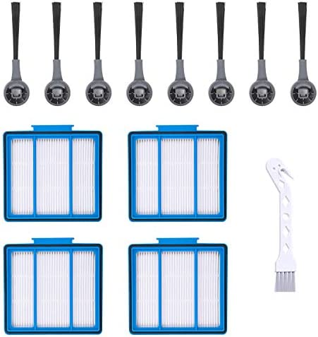 Brush Filters Set Replacement for Shark IQ R101AE IQ R101 RV1001 Vacuum Cleaner
