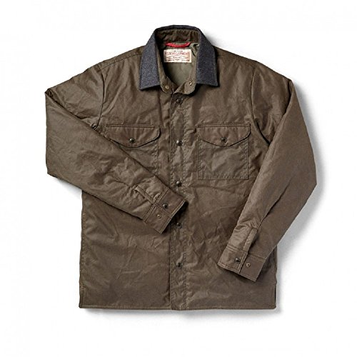Filson Mens Isulated Jac Shirt Otter Green 11010643 (Medium)