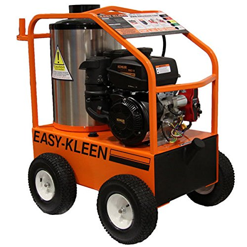 Easy-Kleen Professional 4000 PSI (Gas - Hot Water) Pressure Washer w/ Kohler Engine & Electric Start (12V Burner)