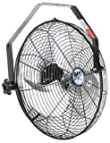 Maxx Air HVWM 18 UPS Wall Mount Fan, Commercial Grade for Patio, Garage, Shop | 18 Inches