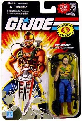 G.I. Joe 25th Anniversary Comic Series Cardback: Dreaknok Ripper (Cobra) 3.75 Inch Action Figure