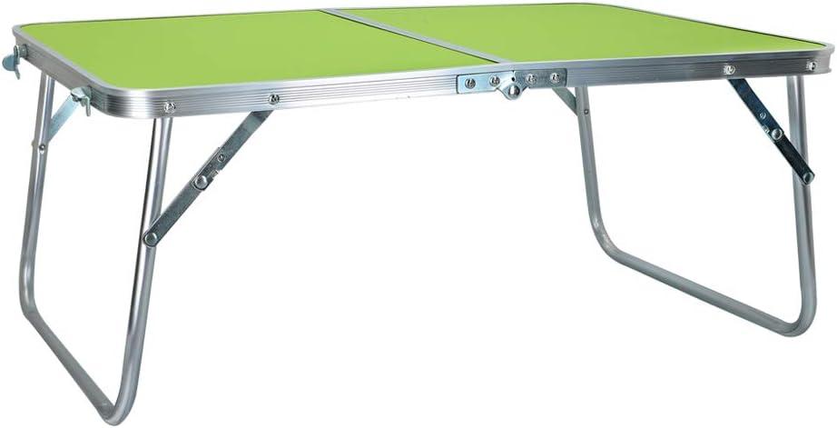 60 x 40 x 26 cm Verde Aktive 52811 Mesa Plegable Camping Sport