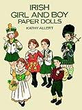 Irish Girl and Boy Paper Dolls, Kathy Allert, 0486288846