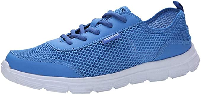 WWricotta LuckyGirls Zapatillas de Correr Hombre Mujer Par Informales Malla Casual Cómodas Calzado de Deporte Transpirables Zapatos Planos Bambas con Cordones: Amazon.es: Deportes y aire libre