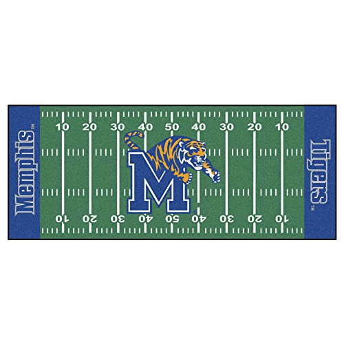 Runner Football Tigers (NCAA University of Memphis Tigers Football Field Runner Mat Area Rug)