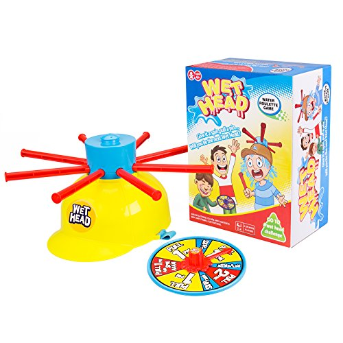 Wet Head Game, Gvoo Funny Wet Hat Water Challenge Roulette Game Prank Game Toys for Family, Halloween Party, Holiday, Christmas Gift and Outdoor Activity]()