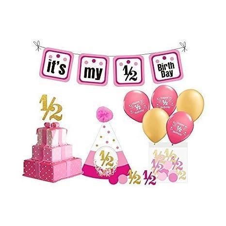 Amazon.com: Niñas decoraciones de fiesta de cumpleaños ...