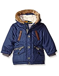 """Carter's Baby Boys' """"Trimmed Faux Leather & Faux Fur"""" Insulated Jacket"""