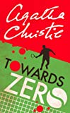 Towards Zero by Agatha Christie front cover