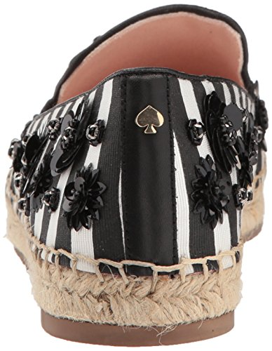 Kate Spade New York Donne Leigh Fannullone Piatto Nero / Bianco A Righe