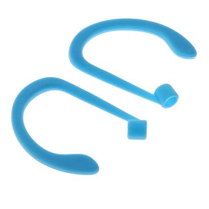 Homyl 1 Par de Clips de orejas para auriculares conecta con apple airpods Conectores - Azul