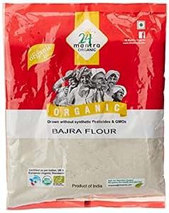 Amazon.com : 24 Mantra Organic Bajra (Pearl Millet) Flour