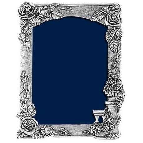 Royal Selangor Hand Finished Moods and Memories Collection Pewter Climbing Roses Photoframe (8R)