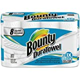 Bounty DuraTowel Paper Towels, 2-Ply, 9 x 11, 53/Roll - Includes eight rolls.
