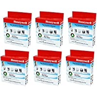 Honeywell HRF-AP1 Universal Carbon VCmyb Pre-filter, Filter A (6 Pack)