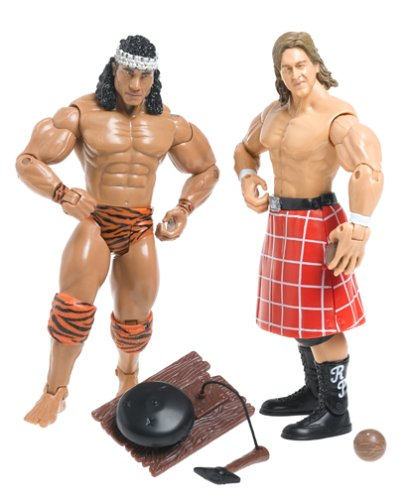 Wwe Classic Superstars 2 Pack Jimmy Snuka Vs  Roedy Piper