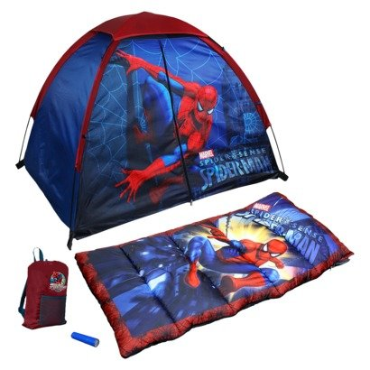 Spiderman 4 Piece Fun Camp Kit