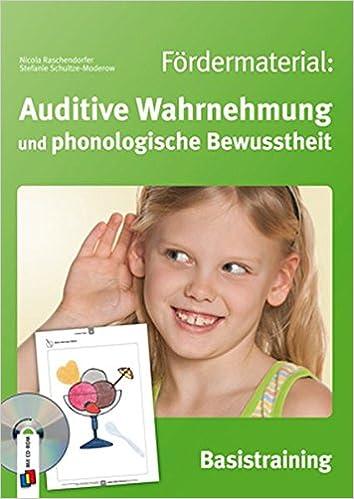Fördermaterial: Auditive Wahrnehmung und phonologische Bewusstheit ...