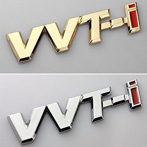 3D Metal VVT-I Car Side Fender Rear Trunk Emblem Badge Sticker Decals for Toyota Camry Lexus Is Es Rx by BENBW (Image #4)