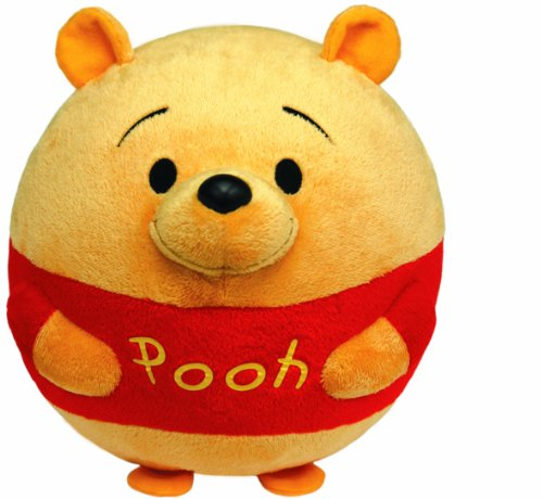 Ty Beanie Ballz Winnie The Pooh Plush, Bear, Medium