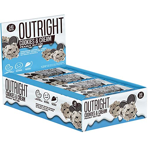 Outright Bar – Whole Food Protein Bar – 12 Pack – MTS Nutrition (Peanut Butter Cookies & Cream)