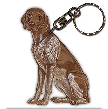 Amazon.com: German Shorthair Pointer perro raza de madera ...