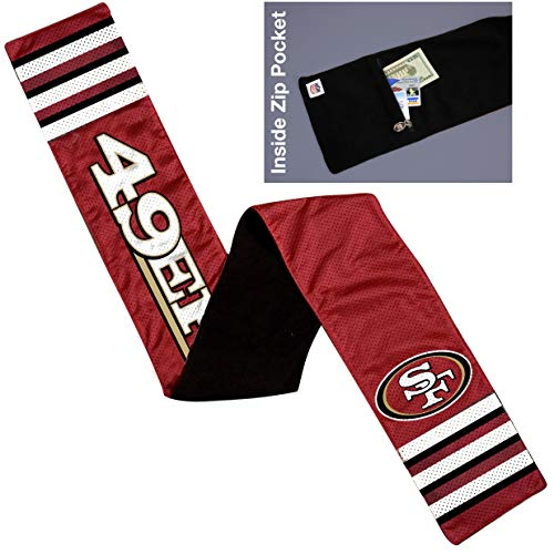 - NFL San Francisco 49ers Jersey Scarf