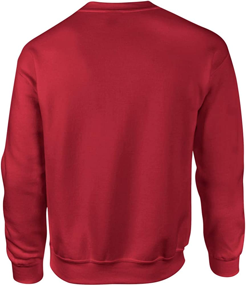 Gildan DryBlend Sweatshirt/Pullover mit Rundhalsausschnitt Blau