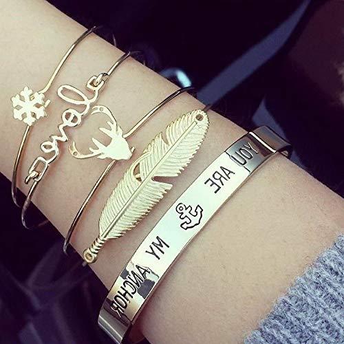Flowers Disney Couture Necklace - Hemau Fashion Flower Crystal Rhinestone Gold Silver Chain Bangle Bracelet Jewelry | Model BRCLT - 192 |