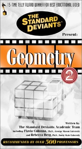 The Standard Deviants: Geometry, Part 2 [VHS]