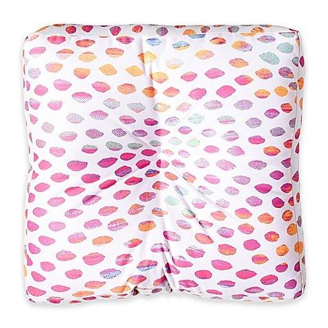 Designs Elisabeth Fredriksson Paradise Dots Square Floor Pillow