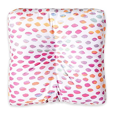 Designs Elisabeth Fredriksson Paradise Dots Square Floor Pillow by Generic