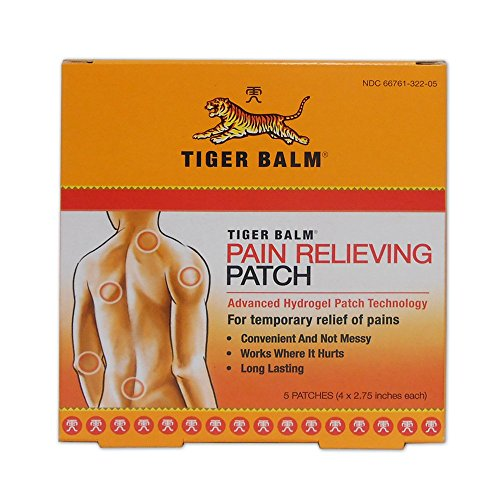 Tiger Balm Relieving Patch Boxes product image