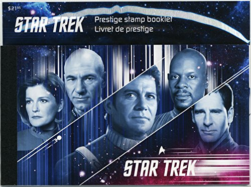 Star Trek: Year 2 - Prestige Booklet (a visual story of Star Trek) Stamps By Canada (Canada Post)