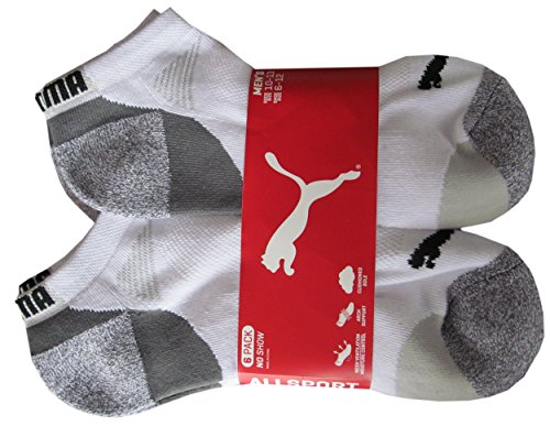 puma-mens-low-cut-all-sport-no-show-socks-6-pair-shoe-size-6-12-white-grey