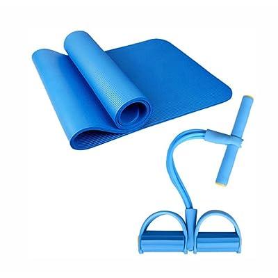 Tapis de yoga, 10mm allongent le tapis de forme physique antidérapant épaississent le tapis de yoga insipide ( Couleur : #4 )