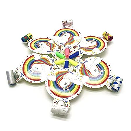 YUWANW - Juego de vajilla con diseño de unicornio y fruta ...