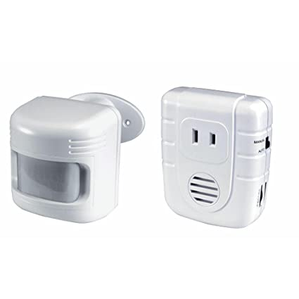 Amazon.com : Outdoor Wireless Motion Sensor with Outlet Control ...