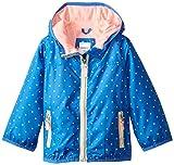 Carter's Baby Girls' Polka Dot Lightweight Jacket, Blue, 24 Months
