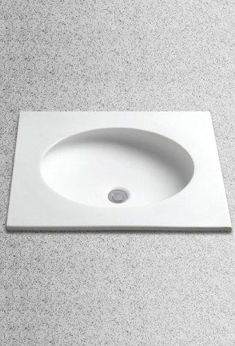 Toto LT180#12 22-Inch by 19-Inch Curva Self-Rimming Lavatory, Sedona Beige